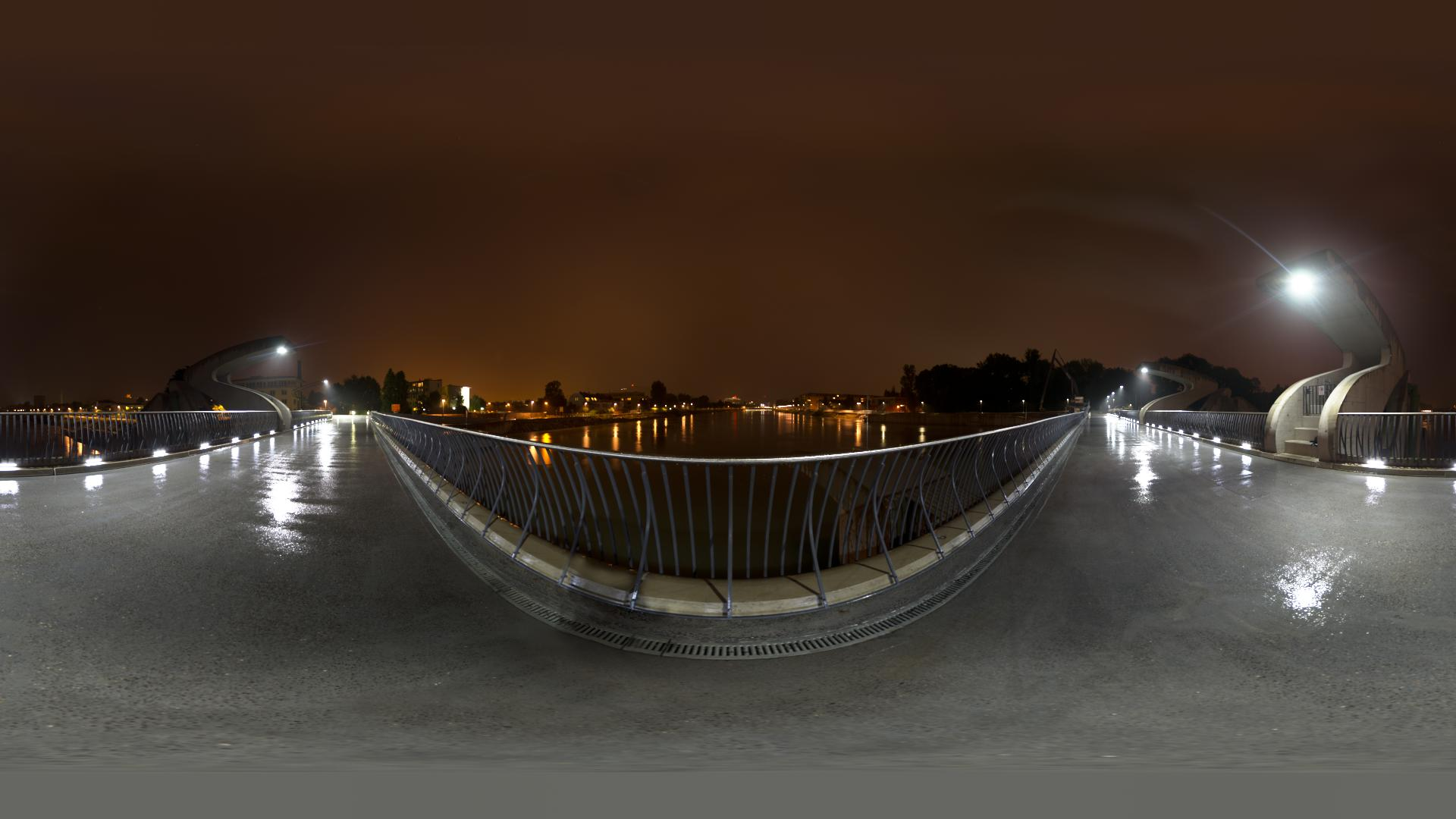 Hdri hdr of a river power station at night openfootage riverpowerstation hdri thecheapjerseys Image collections