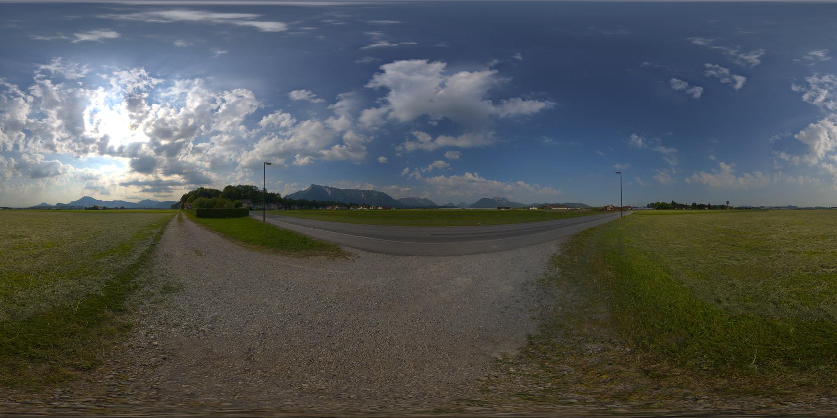 Hdri 360 field summer partly cloudy openfootage hdrisnow altavistaventures Images