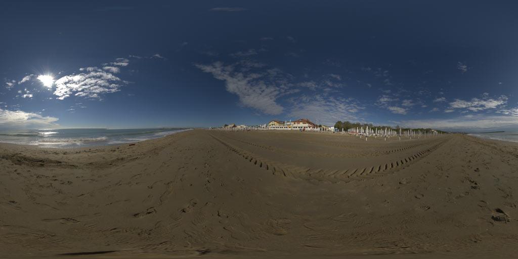 HDRI 360° Beach Cavalino Italy 03   Openfootage