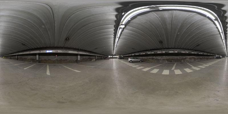 HDRI 360° garage salzburg | Openfootage