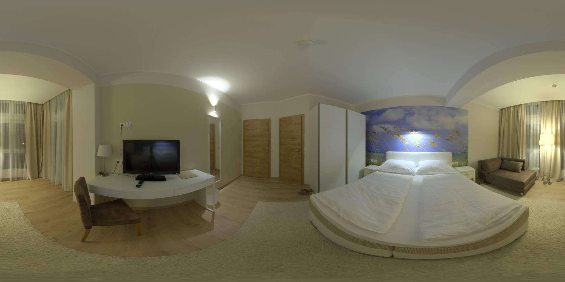 Hdri 360 Hotel Room Indoor Openfootage