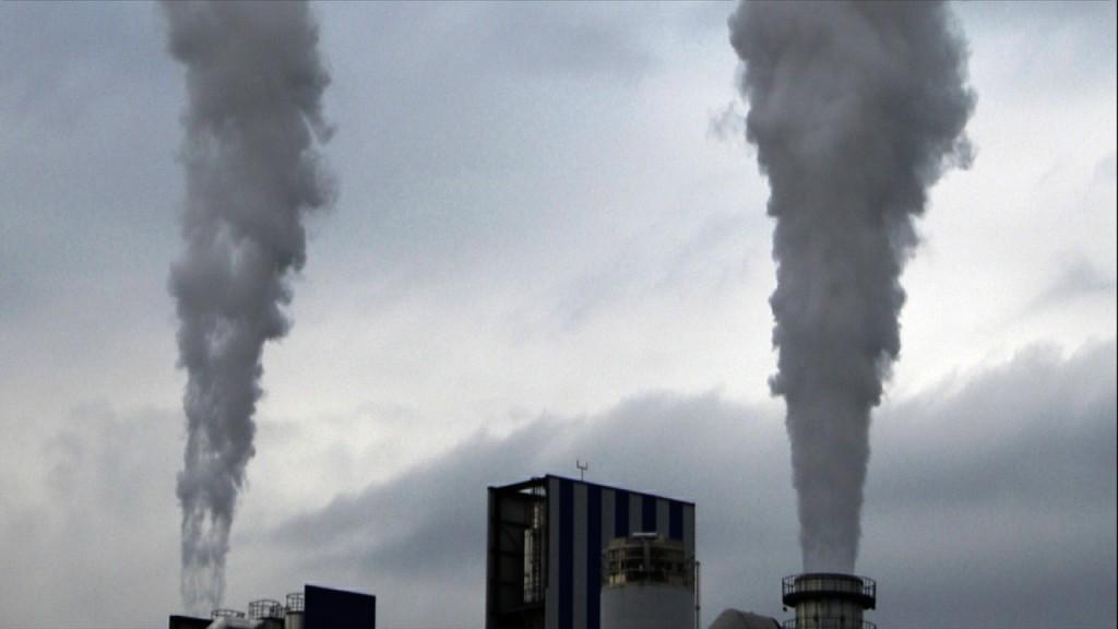 Smoke factory timelapse