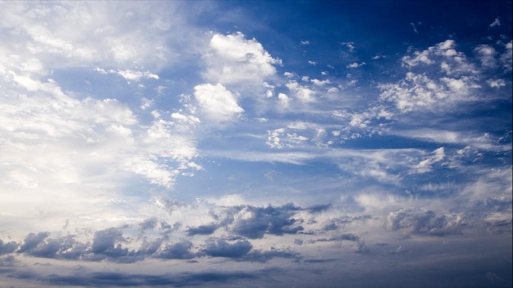clouds timelapse tulcea in romania