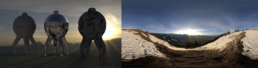 HDRI 360 degree gaisberg salzburg