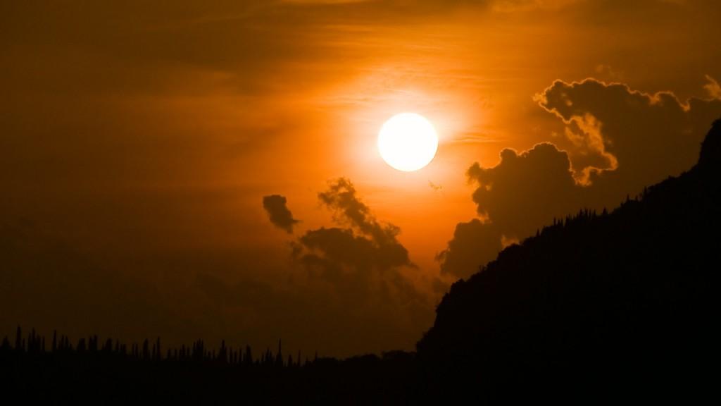 Timelapse sun close