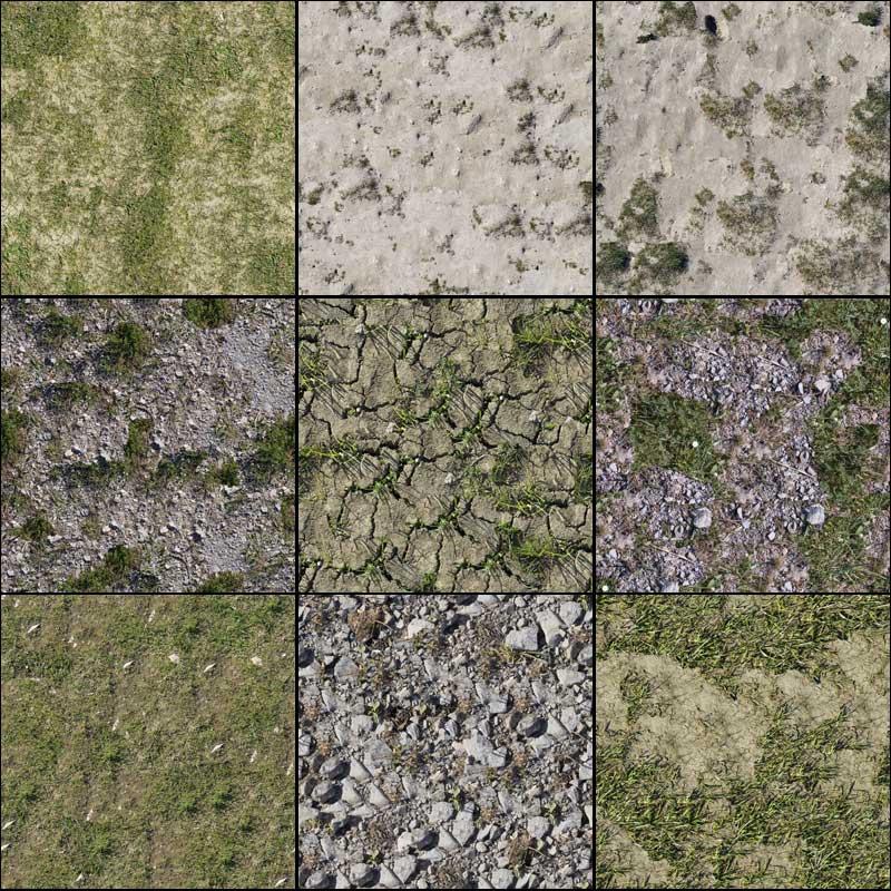 GrassStone II Texture Pack