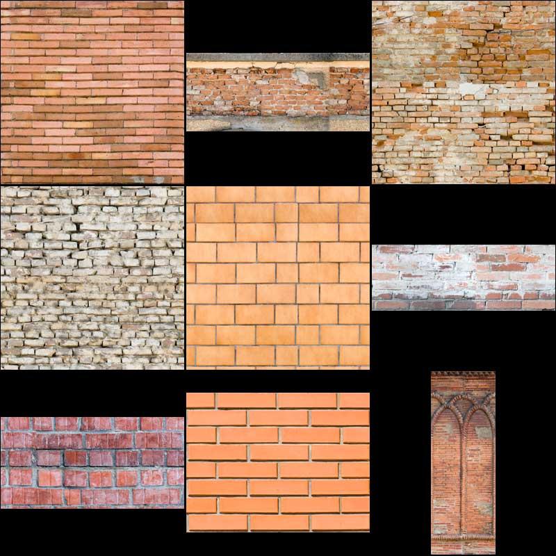 bricks texture pack