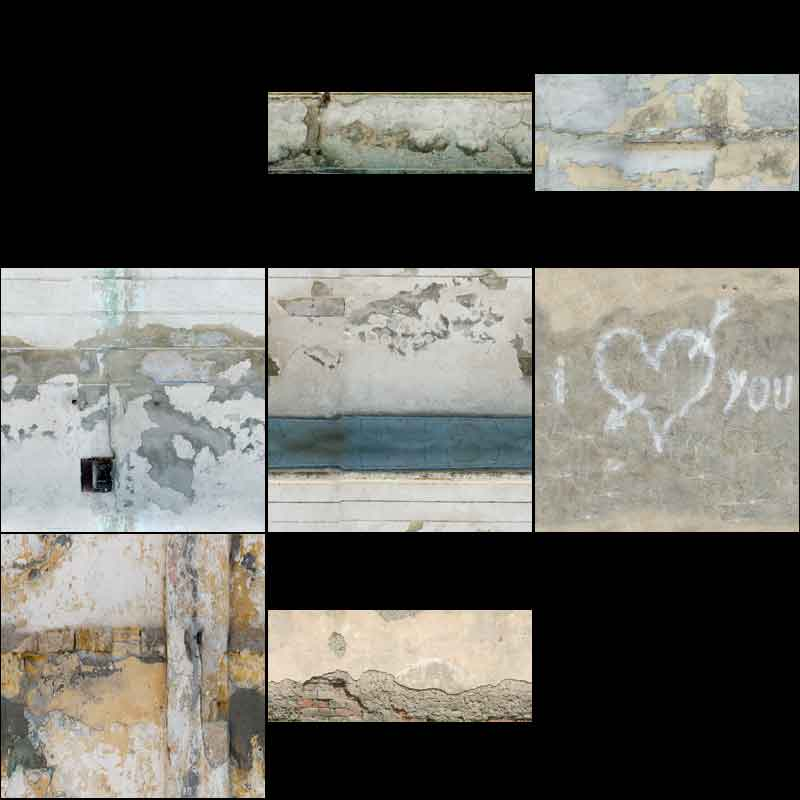 Dirty walls III texture pack