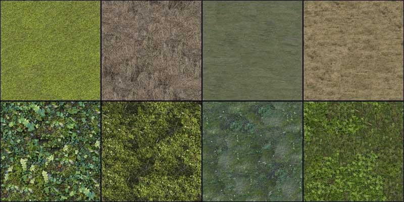 grass and forrest ground texturepack