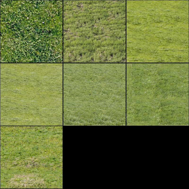 Fresh Grass Texture Pack