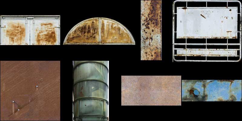 rust texture pack II