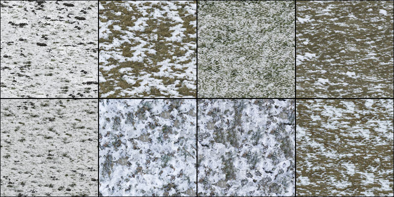 Snow Ground Texture Pack