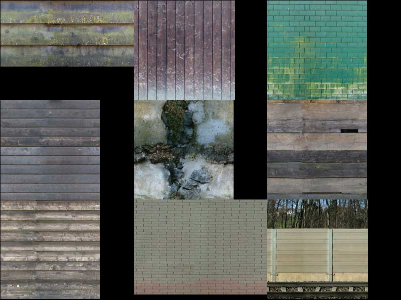 Tiles and walls textures