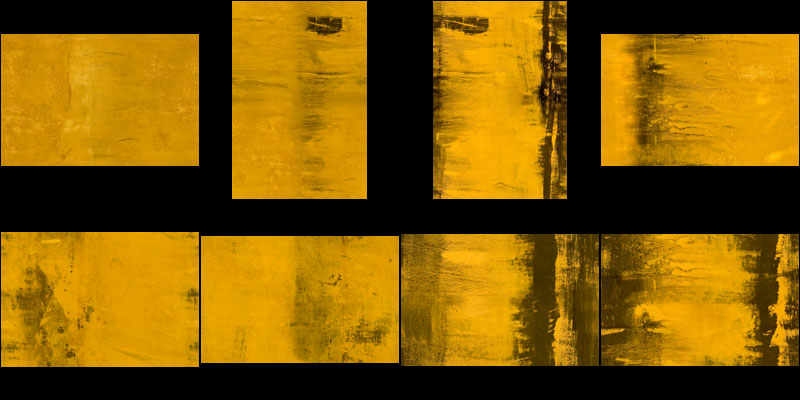 Yellow abstract painting Texture Pack