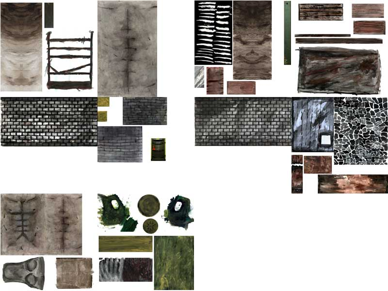 """Textures from an old animated short """"Z.o.D.I"""""""