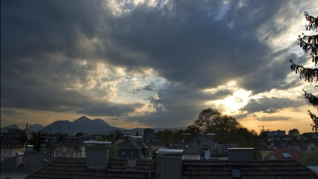Timelapse Sunset Salzburg