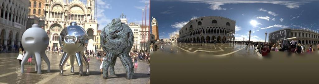 HDRI 360° Piazza San Marco Venice