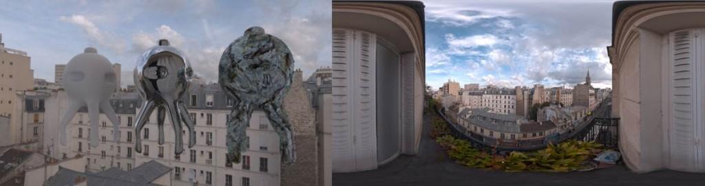 HDRI 360° Menilmontant Paris, France