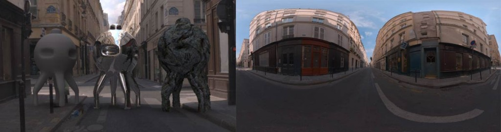 HDRI 360° St.Germain Paris, France