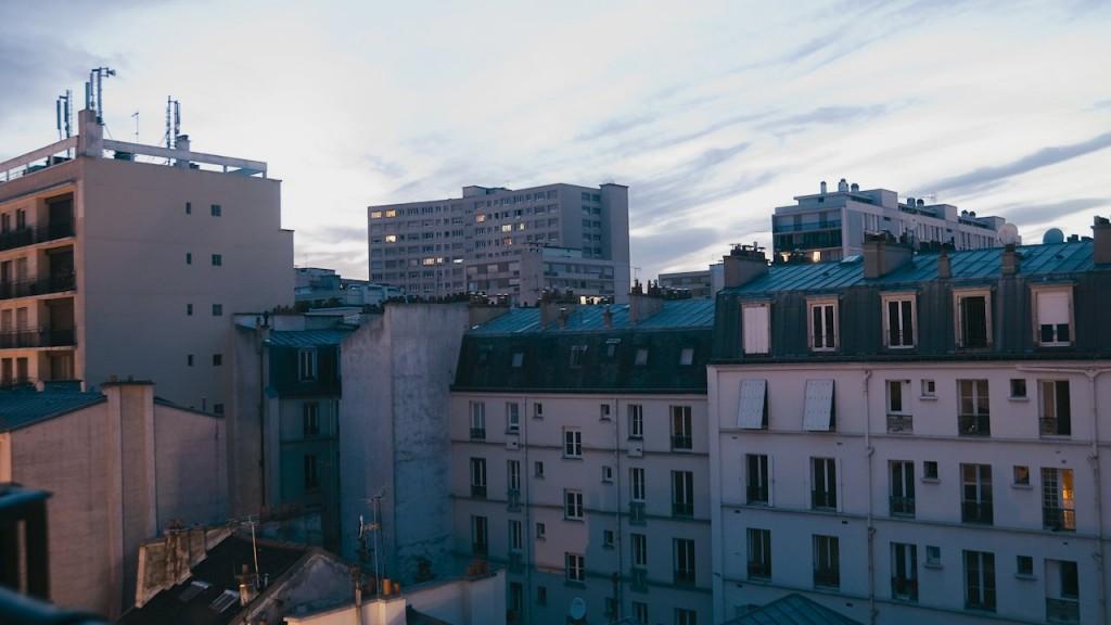 Paris Timelapse Sunset 01