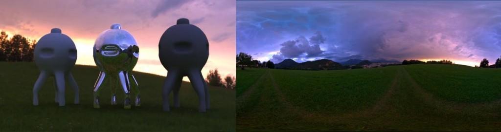 HDRI 360° Colorful Sunset 01