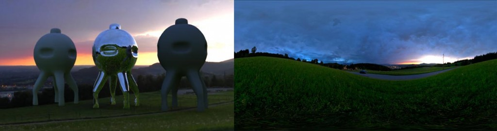 HDRI 360° Colorful Sunset 02