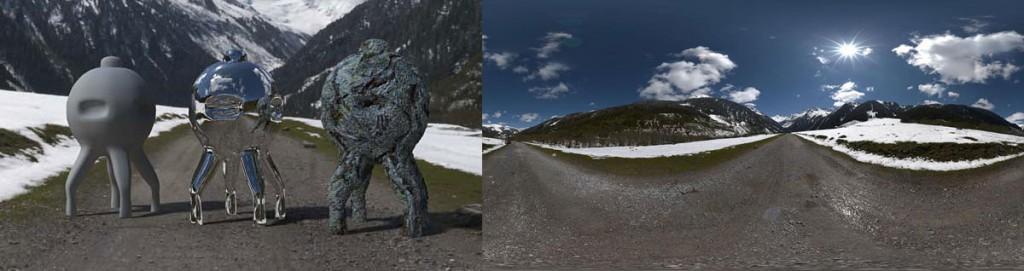 HDRI 360° Gerlos, Austria