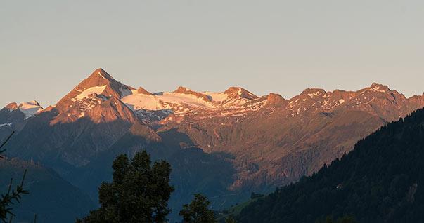 Timelapse kitzsteinhorn sunrise