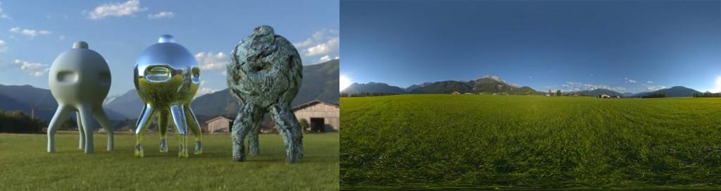 HDRI 360° Saalfelden, Austria