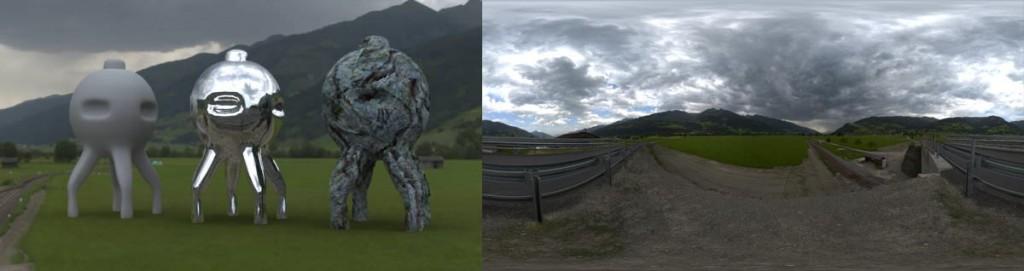 HDRI 360° Pinzgau, Austria