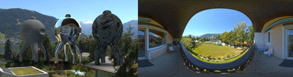 HDRI 360° Thumersbach, Austria