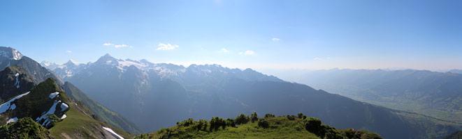Panorama Imbachhorn, Austria