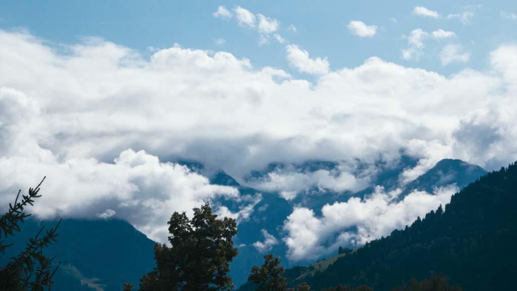 Timelapse clouds pinzgau