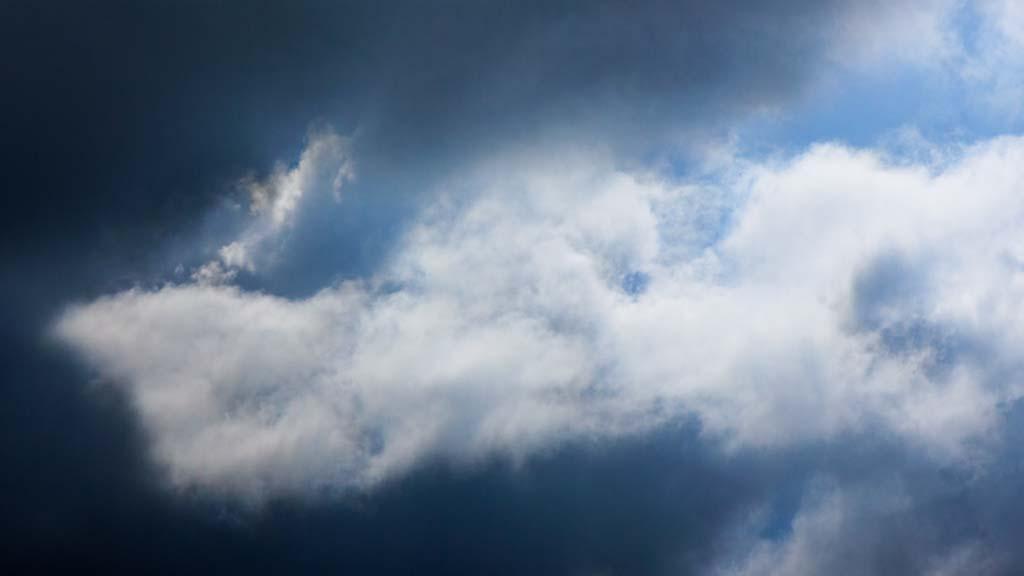 blue hole clouds