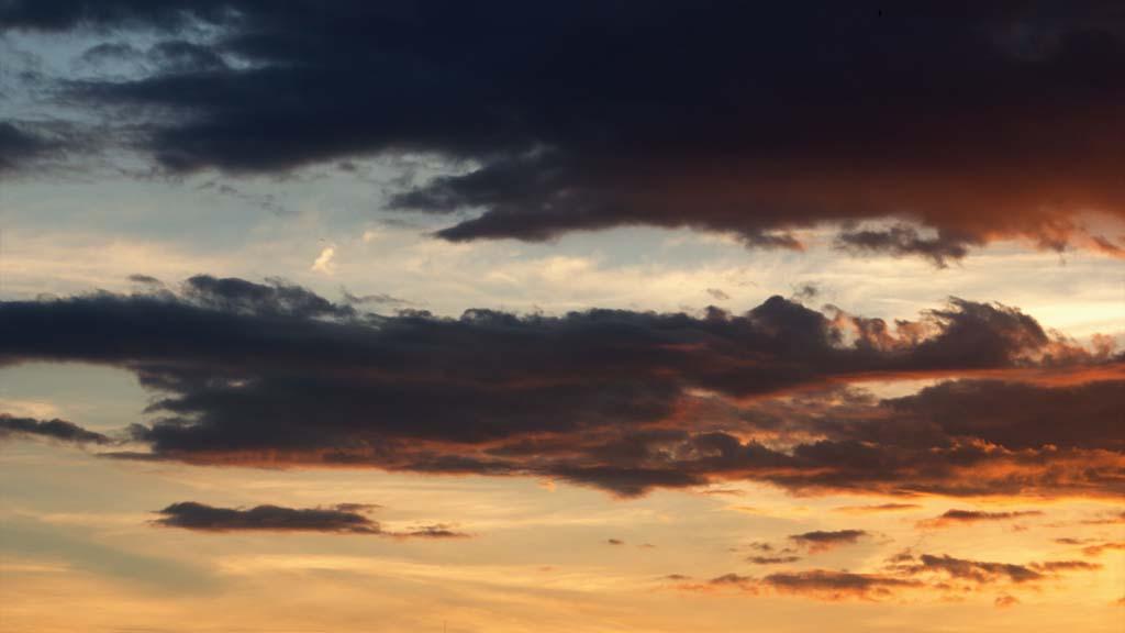Timelapse nice sunset
