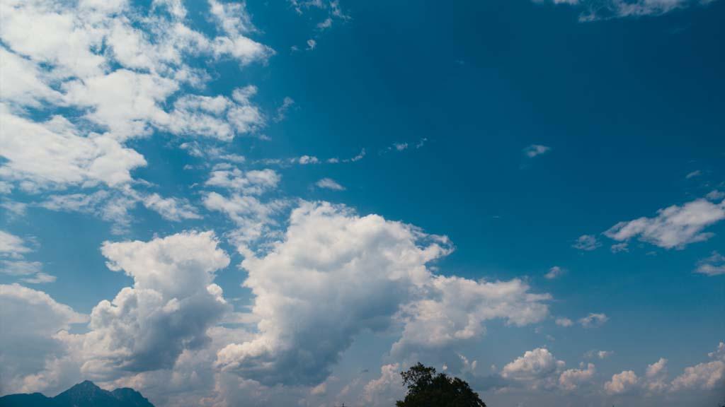 Timelapse beautiful clouds