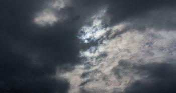 Timelapse clouds sun