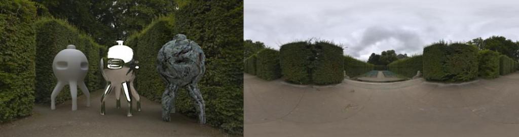 HDRI 3.0 / 360° Mirabell labyrinth