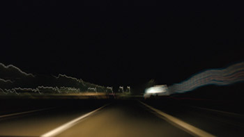 Timelapse highway night