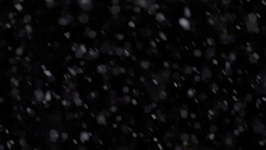 Snow slowmotion