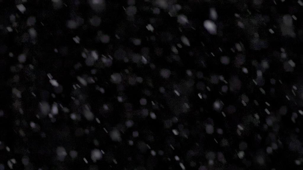 Snow slowmotion