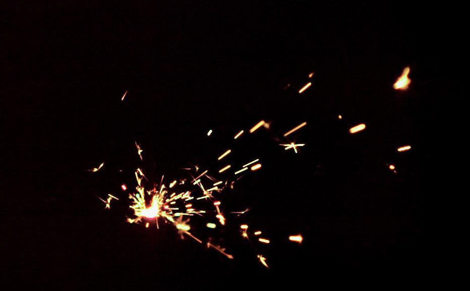 Sparkel slowmotion
