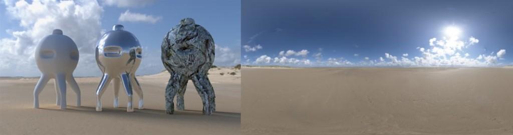 HDRI / 360° Beach 04
