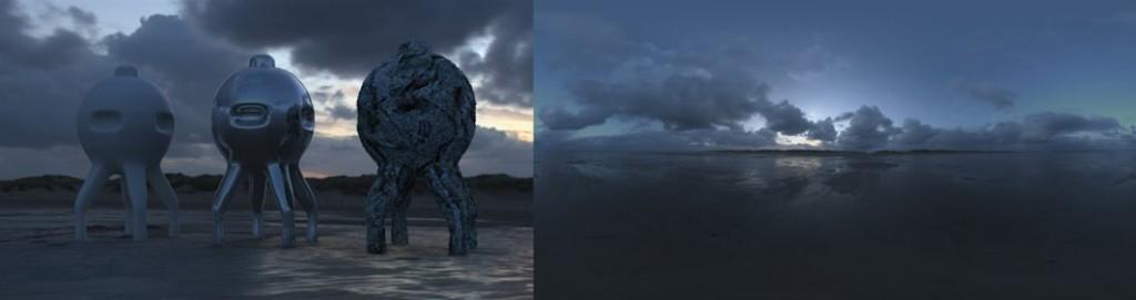 HDRI / 360° Beach 06
