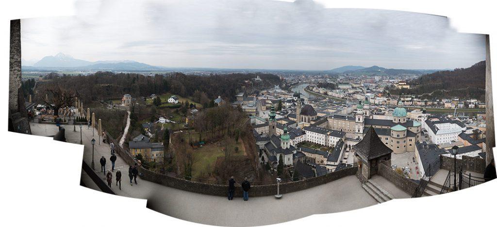 Panorama Fortress Salzburg