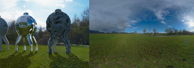HDRI 360° panorama sunset | Openfootage