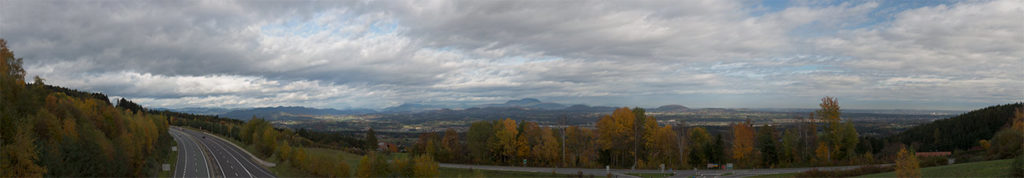 Panorma over styria, Austria